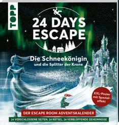 24 DAYS ESCAPE - Der Escape Room Adventskalender: Die Schneekönigin und die Splitter der Krone