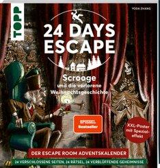 24 DAYS ESCAPE - Der Escape Room Adventskalender: Scrooge und die verlorene Weihnachtsgeschichte