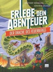 Der Drache des Feuerbergs (Rätselabenteuer für Kinder ab 8 Jahren, Spielebuch, stundenlanger Rätselspaß))