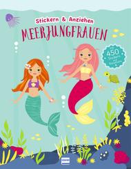 Meerjungfrauen (Anziehpuppen, Anziehpuppen-Sticker), m. 450 Beilage