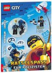 LEGO® City - Rätselspaß für Polizisten, m. 1 Beilage