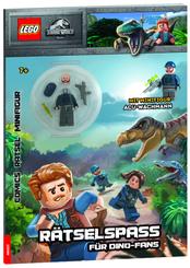 LEGO® Jurassic World - Rätselspaß für Dinofans, m. 1 Beilage