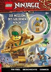 LEGO® NINJAGO® - Die Mission des Goldenen Ninja, m. 1 Beilage
