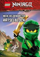 LEGO® NINJAGO® - Mein heldenhafter Rätselblock