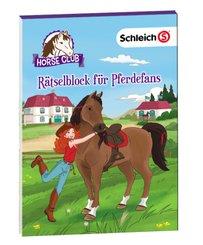 Schleich Horse Club - Rätselblock für Pferdefans