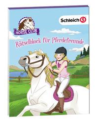 Schleich Horse Club - Rätselblock für Pferdefreunde