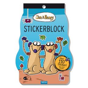 Trötsch Jan und Henry Stickerblock