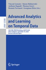 Advanced Analytics and Learning on Temporal Data
