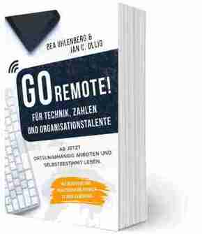 GO REMOTE! Für Technik, Zahlen & Organisationstalente