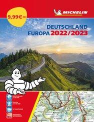 Michelin Straßenatlas Deutschland & Europa 2022/2023