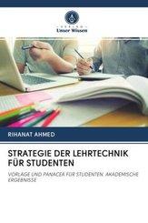 STRATEGIE DER LEHRTECHNIK FÜR STUDENTEN