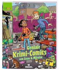 Redaktion Wadenbeißer - Geniale Krimi-Comics zum Lesen und Mitraten