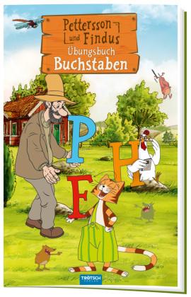 Trötsch Pettersson und Findus Buchstaben Übungsbuch