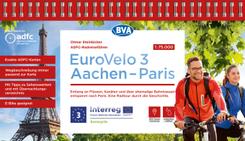 ADFC-Radreiseführer Eurovelo 3 Aachen - Paris, 1:75.000, wetter- und reißfest, GPS-Tracks zum Download, E-Bike geeignet