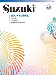 Suzuki Violin School, International Edition, w. Audio-CD - Vol.2