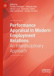 Performance Appraisal in Modern Employment Relations