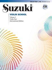 Suzuki Violin School, International Edition, w. Audio-CD - Vol.3