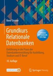 Grundkurs Relationale Datenbanken, m. 1 Buch, m. 1 E-Book