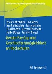 Gender Pay Gap und Geschlechter(un)gleichheit an Hochschulen
