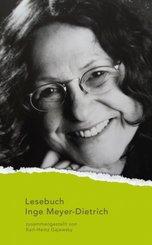 Lesebuch Inge Meyer-Dietrich