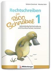 Rechtschreiben mit Rico Schnabel, 1. Klasse