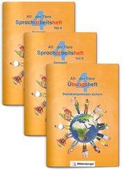 ABC der Tiere 4 - Spracharbeitsheft Kompakt, 3 Teile