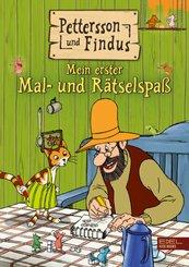 Pettersson und Findus: Mein erster Mal- und Rätselspaß