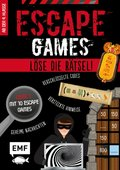 Escape Games Level 1 (rot) - Löse die Rätsel! - 10 Escape Games ab der 4. Klasse