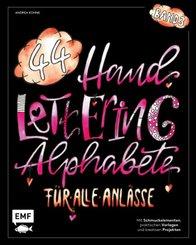 Handlettering 44 Alphabete - Für alle Anlässe - Band 3
