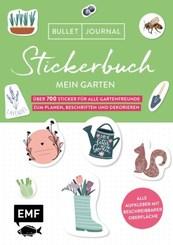 Bullet Journal - Stickerbuch Mein Garten