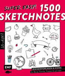Let's sketch! Super easy! 1500 Sketchnotes