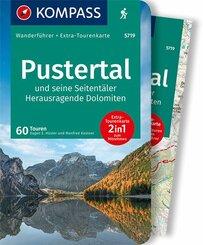 KOMPASS Wanderführer Pustertal und seine Seitentäler, Herausragende Dolomiten