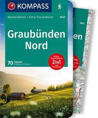 KOMPASS Wanderführer Graubünden Nord