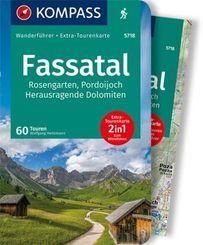 KOMPASS Wanderführer Fassatal