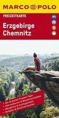 MARCO POLO Freizeitkarte Deutschland Blatt 23 Erzgebirge, Chemnitz