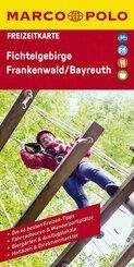 MARCO POLO Freizeitkarte Fichtelgebirge, Frankenwald, Bayreuth 1:100 000