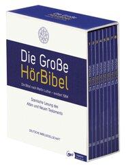 Die Große HörBibel. Ungekürzte, szenische Lesung. 8 MP3-CDs, 8 Audio-CD,