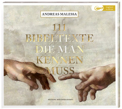 111 Bibeltexte die man kennen muss, Audio-CD,