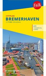 Falk Cityplan Bremerhaven 1:17 500