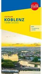 Falk Cityplan Koblenz 1:20 000
