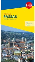 Falk Cityplan Passau 1:17 500