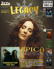Legacy Magazin, The Voice from the Darkside, m. 2 Audio-CDs - Ausg.130