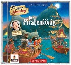 CD Hörspiel: Käpt'n Sharky - Der Piratenkönig, Audio-CD