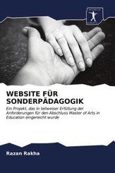WEBSITE FÜR SONDERPÄDAGOGIK