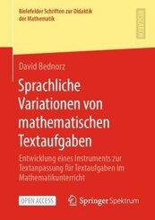 Sprachliche Variationen von mathematischen Textaufgaben