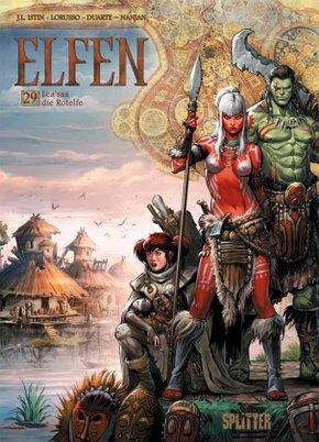 Elfen - Lea'saa die Rotelfe
