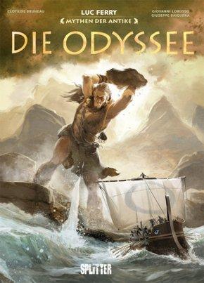 Mythen der Antike: Die Odyssee (Graphic Novel)