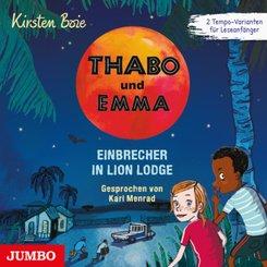 Thabo und Emma. Einbrecher in Lion Lodge, Audio-CD