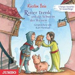 Ritter Trenk und das Schwein der Weisen, 1 Audio-CD