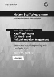 Holzer Stofftelegramme Kauffrau/-mann für Groß- und Außenhandelsmanagement - Lösungen